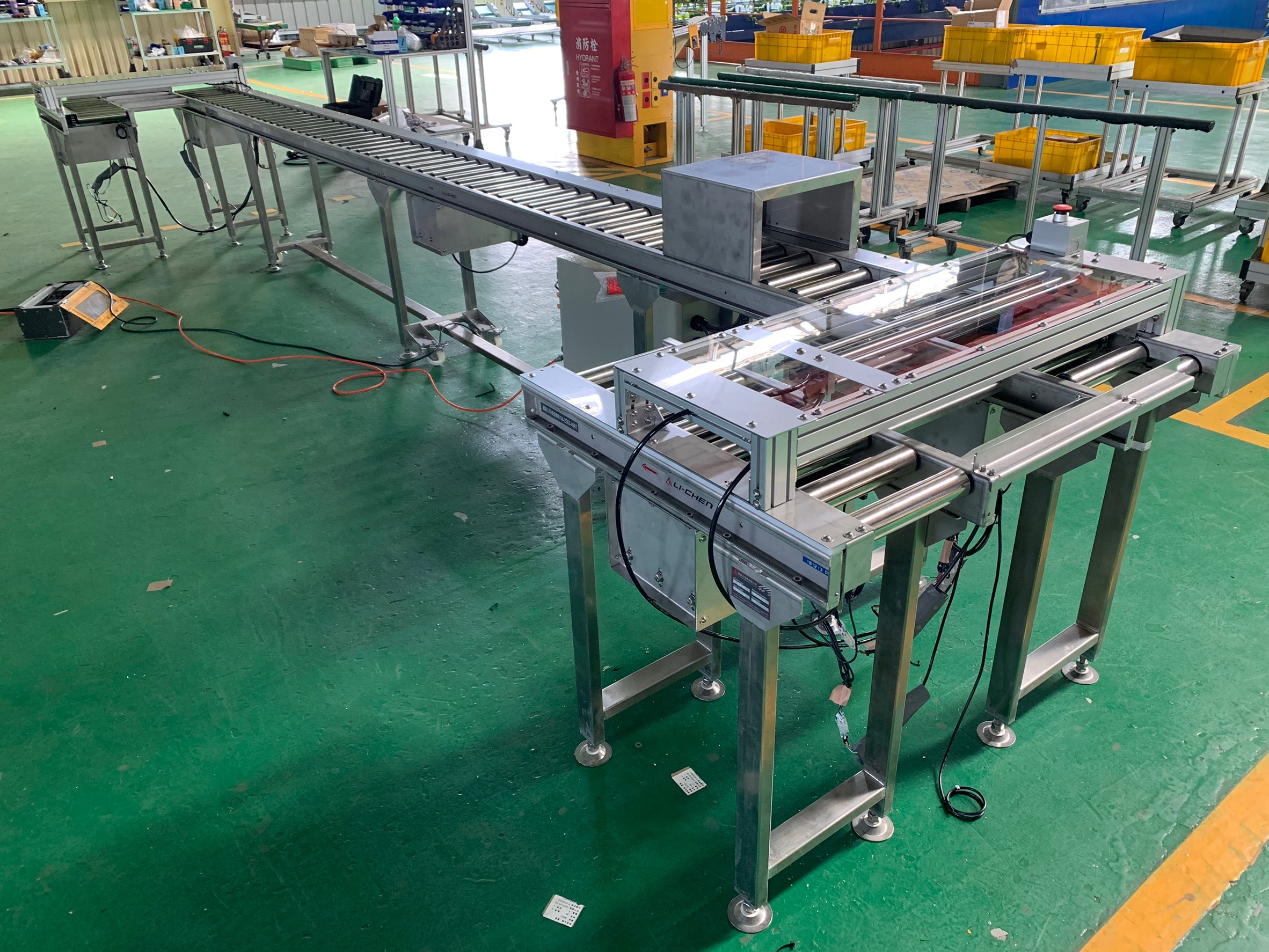 Circulating stainless steel power roller transfer conveyor - APL CONVEYOR ENTERPRISE CO.,LTD